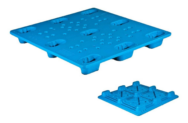 Twin wall plastic pallet manufacturing process